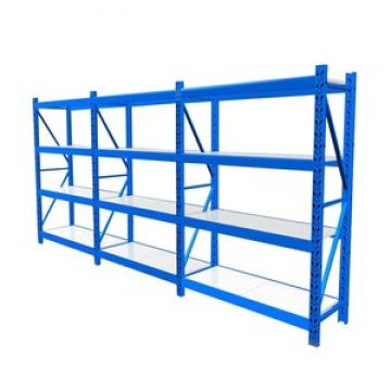 Warehouse Metal Foldable Stack Racks For Fabric Rolls Storage