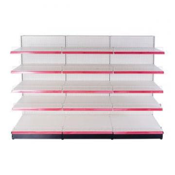 Modern design metal stand convenience store shelving