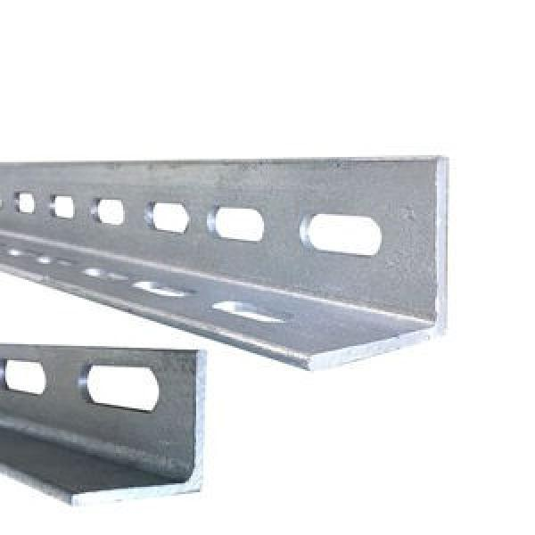 Galvanized perforated metal slotted angle iron with holes for shelving #3 image
