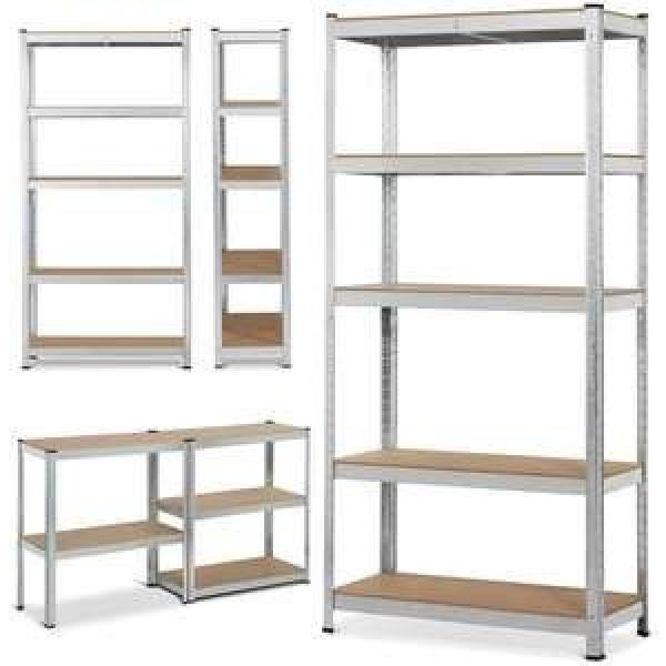3 layers heavy duty metal knocked down car motorcycle tire storage display racks stands shelves #2 image
